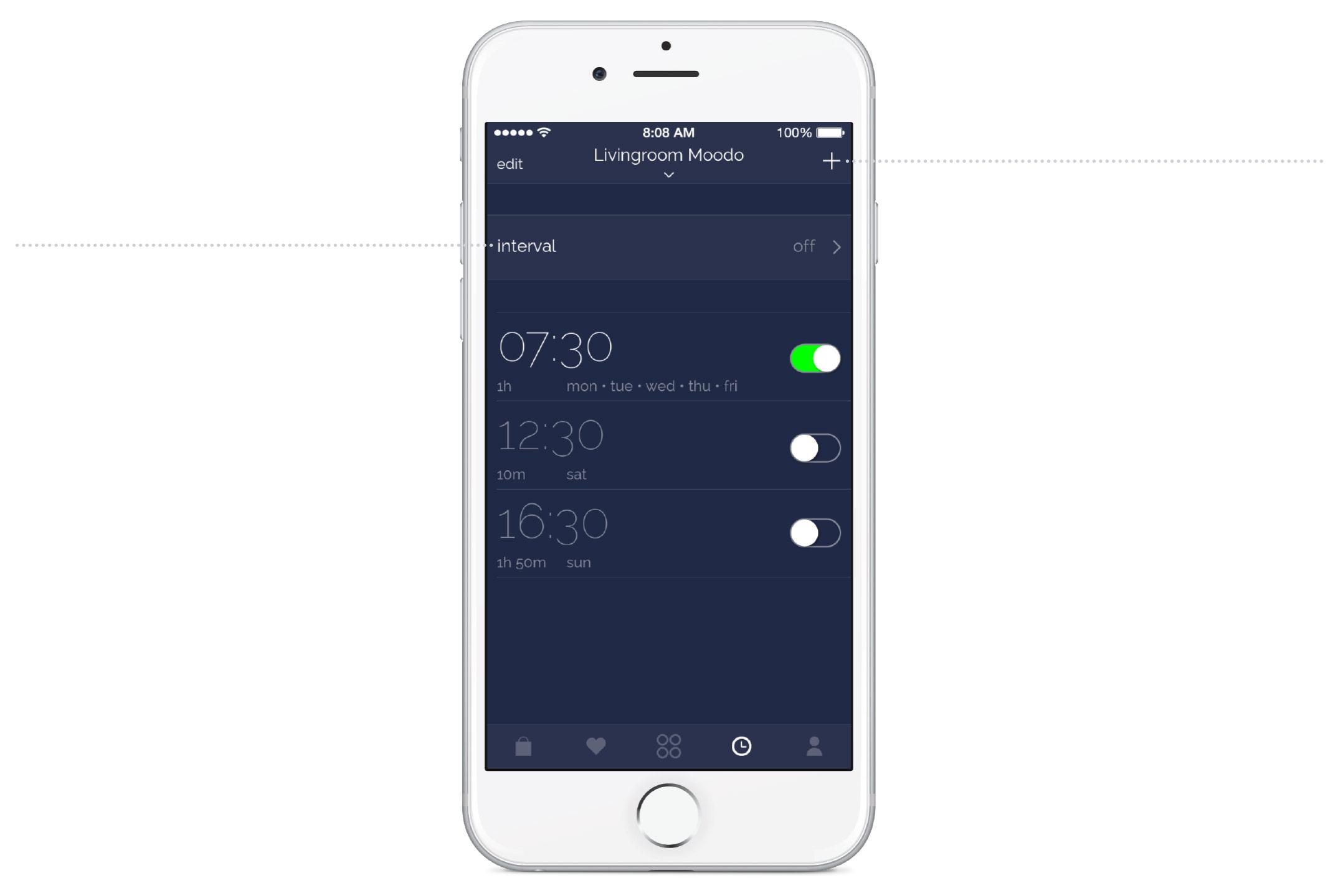 mobile app moodo