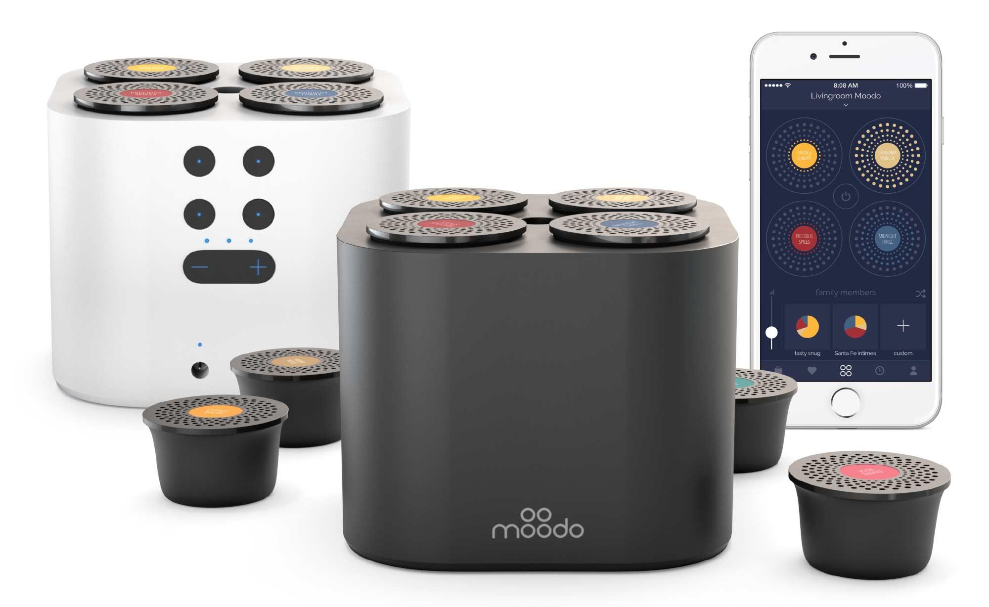 Smart Home Air Scent Machine – Moodo Fragrance Diffuser